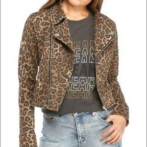 Cheetah Moto Jacket